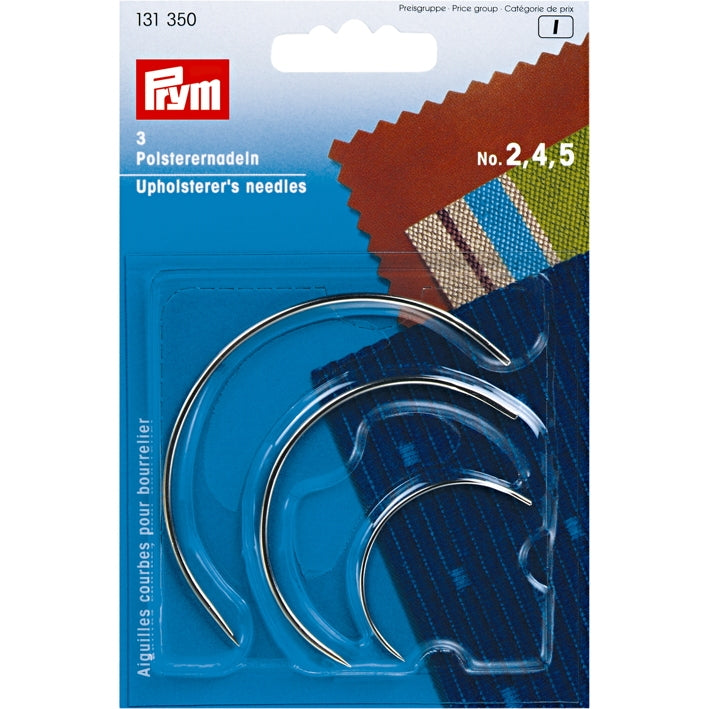 Prym 131350 - Curved Upholstery Needles