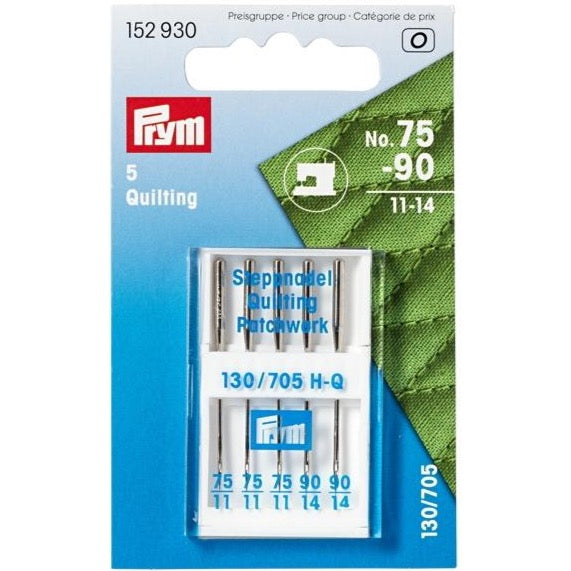 Prym 152930 - Sewing Machine Needles - Patchwork/Quilting