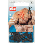 Prym 261453 - Fur Hooks and Eyes - Black