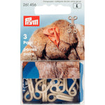 Prym 261456 - Fur Hooks and Eyes - Beige