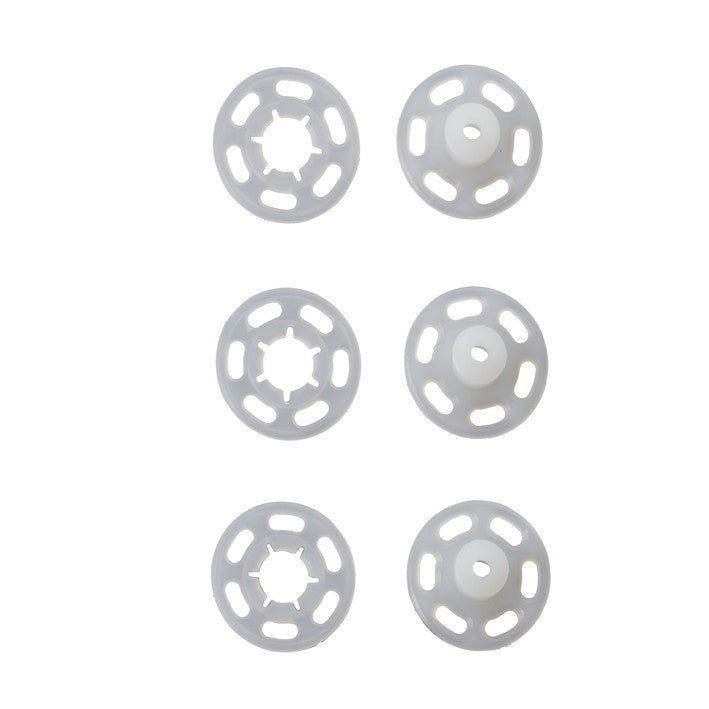 Prym 347106 - Plastic Snap Fasteners - Transparent 15mm