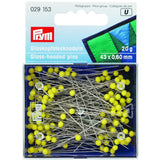 Prym 029153 - Glass Headed Pins Extra Long