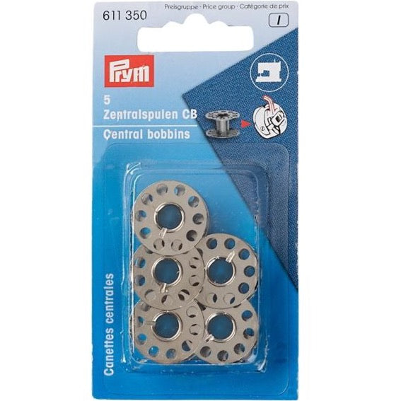 Prym 611350 - Universal Sewing Machine Bobbins - Metal