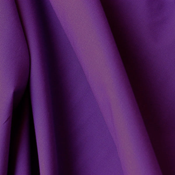 Polycotton Lining - Purple