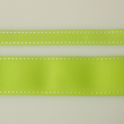 Grosgrain Stitch Ribbon - Lime
