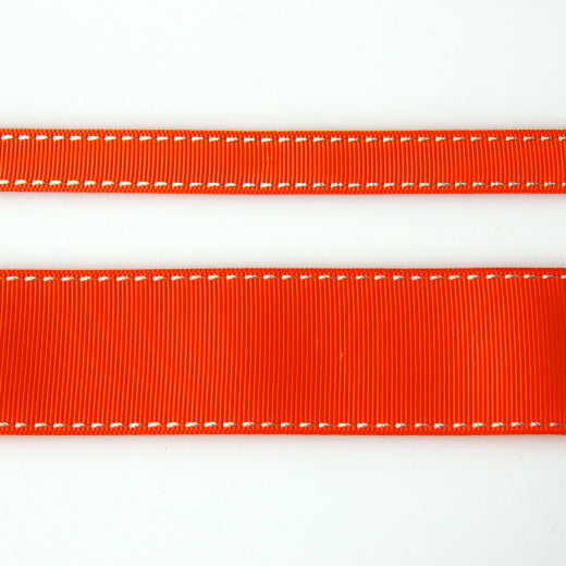 Grosgrain Stitch Ribbon - Postbox Red