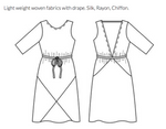 Papercut Patterns - Ravine Dress