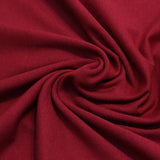 Single Cotton Jersey - Burgundy