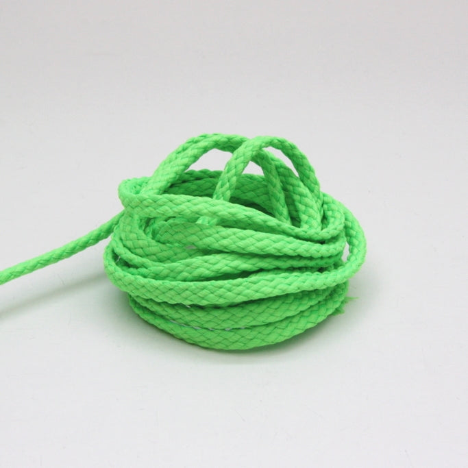 Neon Drawstring Cord 6mm - Fluoro Green