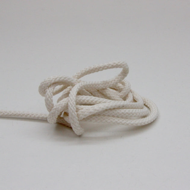 Polyester Drawstring Cord 4mm - Cream
