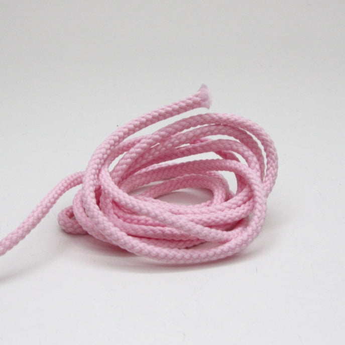 Polyester Drawstring Cord 4mm - Pale Pink