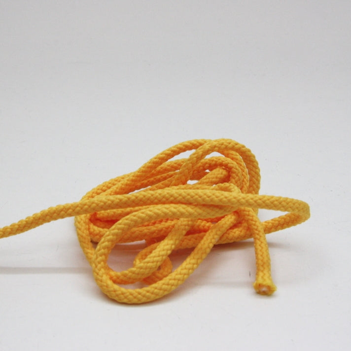 Polyester Drawstring Cord 4mm - Sunflower Yellow