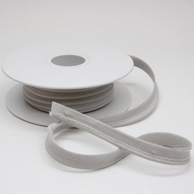 Linen Piping Cord - Cool Grey