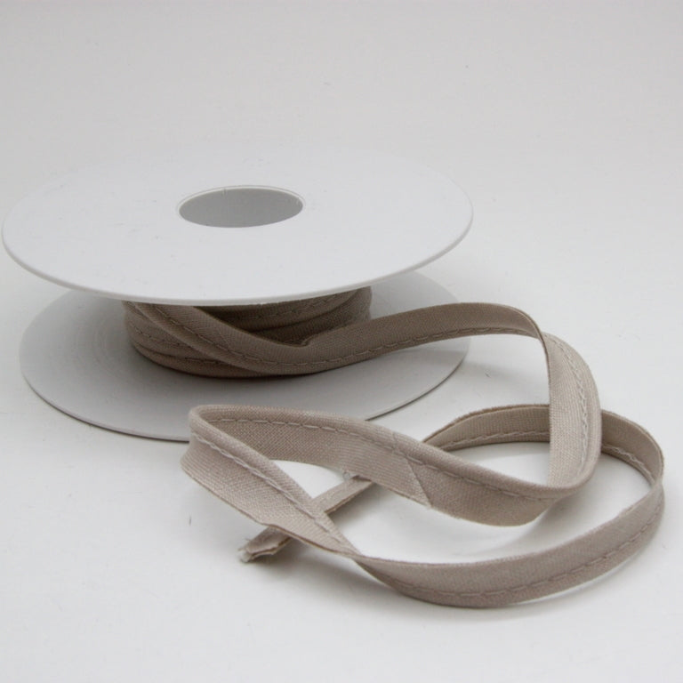 Linen Piping Cord - Beige