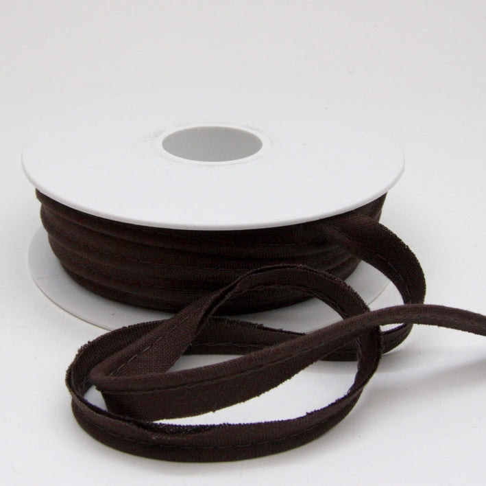 Linen Piping Cord - Chocolate