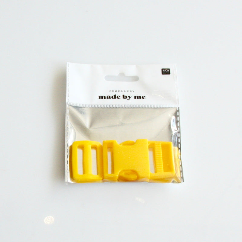 Plastic Side Release Buckle - Yellow