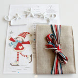Christmas Hanging Sampler Kit - Girl