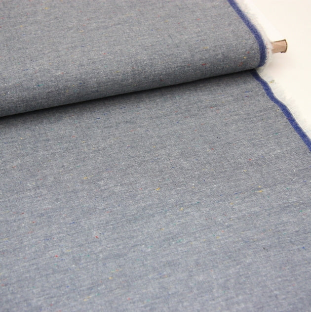 Robert Kaufman Chambray Union - Speckled Indigo