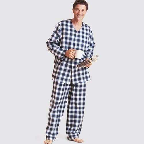 Simplicity Men's 9206 - Men's Robe, Belt, Tops, Pants and Shorts