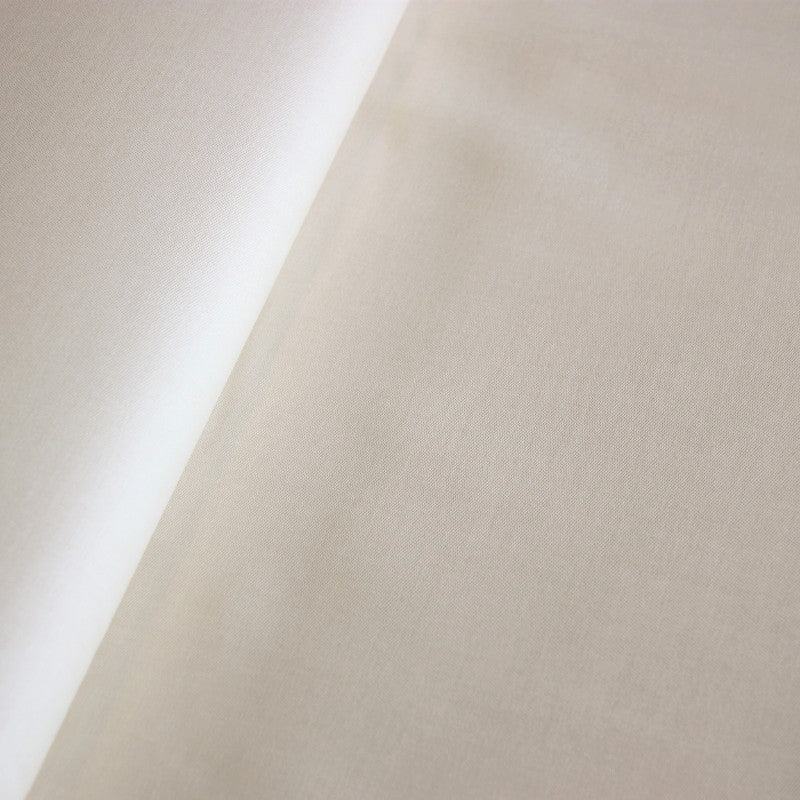 Cotton Sateen Curtain Lining - Ivory