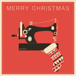Ray Stitch Christmas Card - Sewing Machine