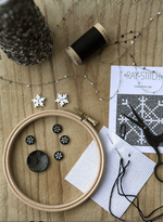 Snowflake Cross Stitch Set B