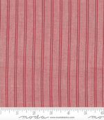 Minick and Simpson - Northport Silky Wovens - Red Chambray Stripe