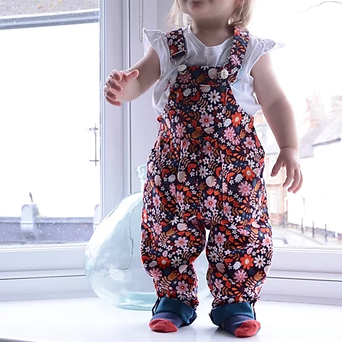 Make A Pair of Children's Dungarees