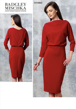 Vogue Patterns - Raised Neckline Dress - 1460