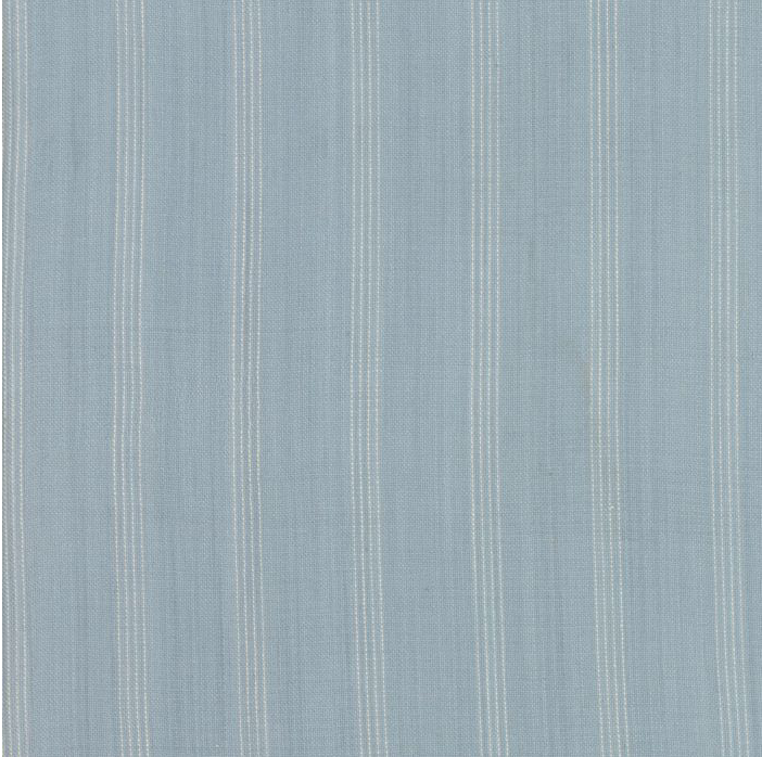 Minick and Simpson - Northport Silky Wovens - Light Blue Wide Stripe