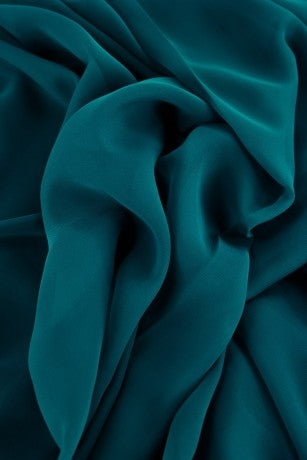 Polyester Chiffon - Teal