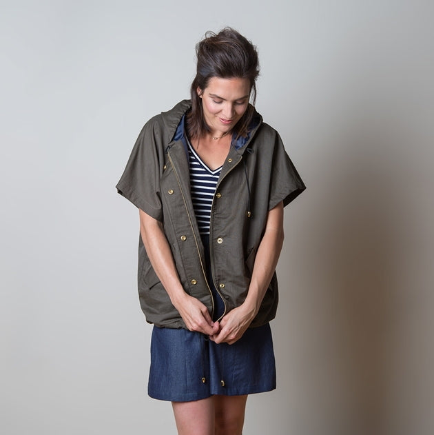 Sewaholic - Seymour Sleeveless Jacket