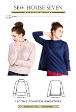 Sew House Seven - The Toaster Sweaters