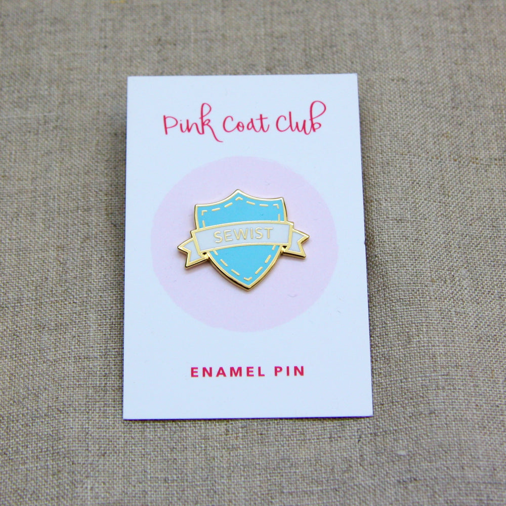 Sewist - Blue Enamel Pin