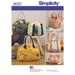 Simplicity 8037 - Gingercake Bags
