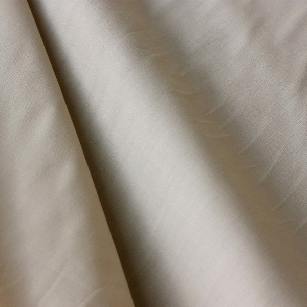 Polycotton Lining - Light Beige