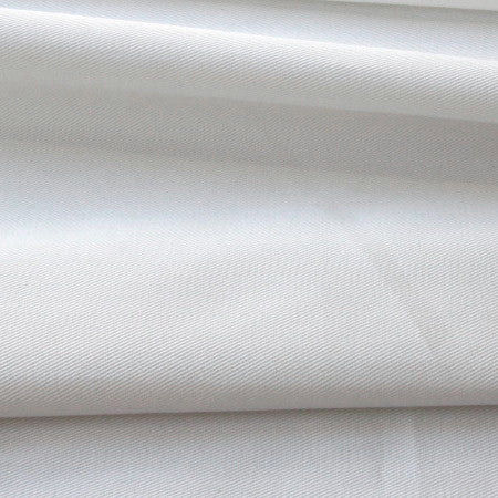 Organic Cotton Superfine Twill - White