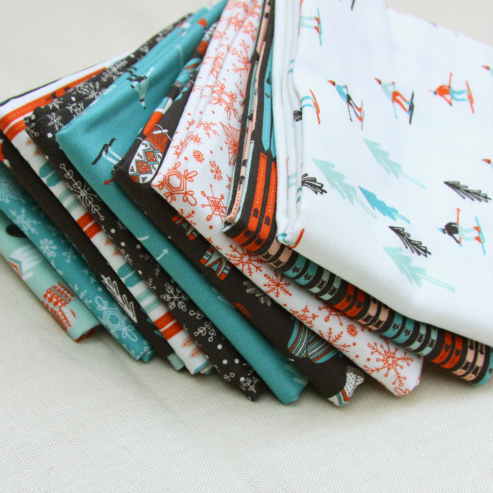 Tahoe Ski Week - Fat Quarter Bundle of 10