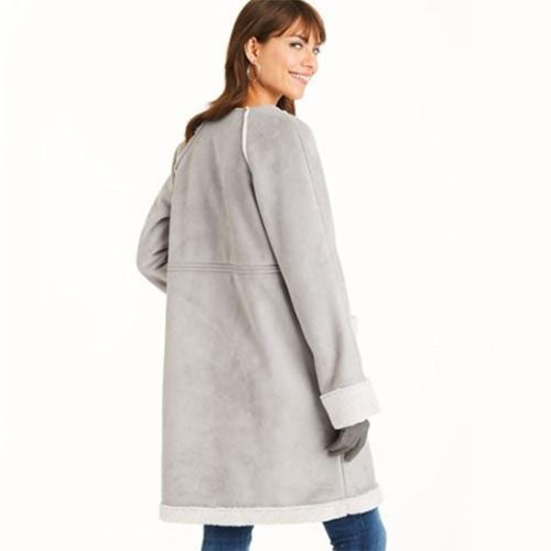New Look Women's 6536 Misses' Easy Coat in Two Lengths