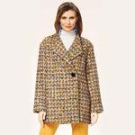 Burda Women's - 6736 Relaxed Fit Coat & Jacket