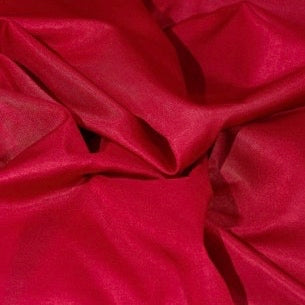 Triacetate Lining - Cherry Red
