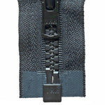 Vislon Open-Ended Chunky Zip - Black 580