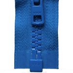 Vislon Open-Ended Chunky Zip - Bright Blue 918
