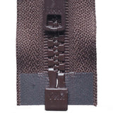 Vislon Open-Ended Chunky Zip - Brown 570