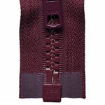 Vislon Open-Ended Chunky Zip - Burgundy 048
