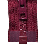 Vislon Open-Ended Chunky Zip - Dark Wine 527