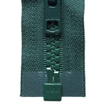 Vislon Open-Ended Chunky Zip - Forest Green 890