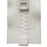 Vislon Open-Ended Chunky Zip - Ivory 841