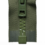 Vislon Open-Ended Chunky Zip - Khaki 566