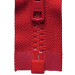 Vislon Open-Ended Chunky Zip - Red 519